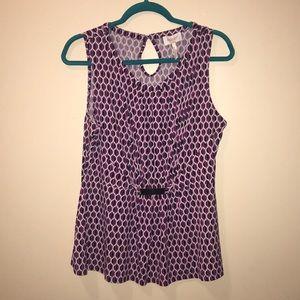 Laundry by Shelli Segal Large sleeveless blouse